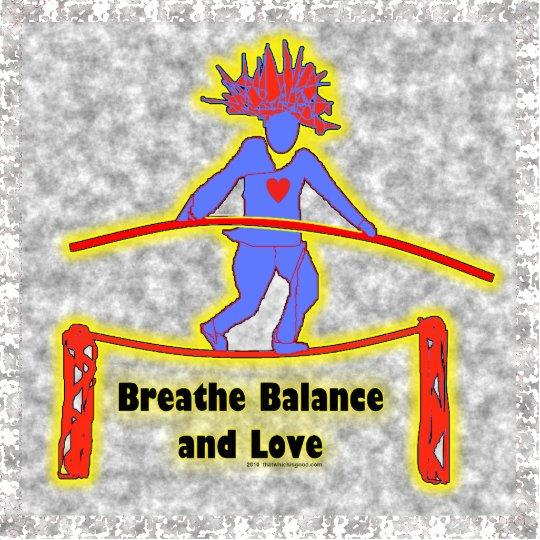 Balance Breath & Love Statuette