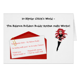 Balance Builders Buddy System Stationery Note Card