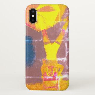 Balance Circus Art Custom iPhone X Glossy Case