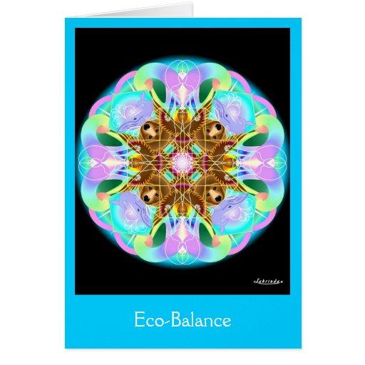 Balance ecológico felicitacion
