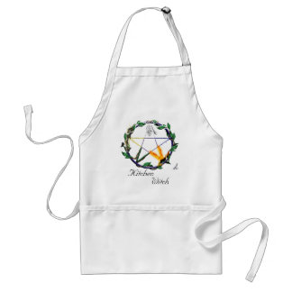 """Balance"" - Elemental Pentacle Adult Apron"