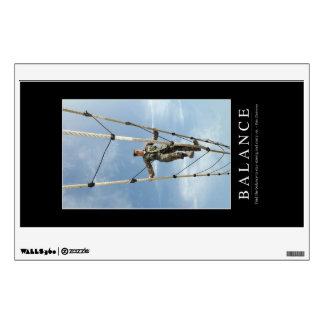 Balance: Inspirational Quote Wall Sticker