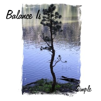 Balance is Simple magnet