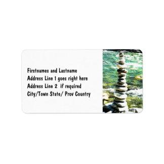 Balance Personalized Address Label