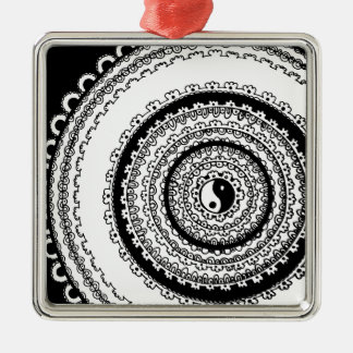 Balance Mandala Metal Ornament