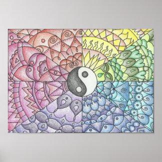 Balance Mandala Poster