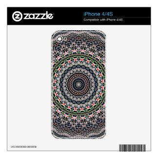 Balance Mandala Skin For iPhone 4S