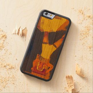 Balance on Head iPhone 6/6s Bumper Wood Case