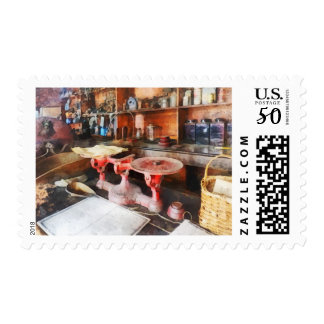 Balance Scale in General Store Postage
