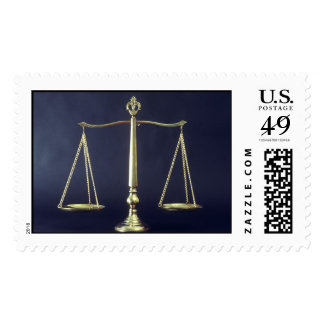 Balance Scales Postage Stamps