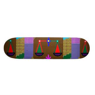 BALANCE sports ZODIAC Graphic by NAVIN JOSHI Skateboard Deck