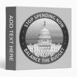 Balance The Budget 3 Ring Binder