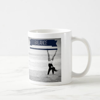 Balance - White Coffee Mug