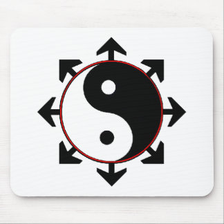 Balance Within Chaos Mouse Mat
