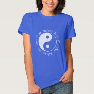 Balance Yin Yang Symbol T Shirt