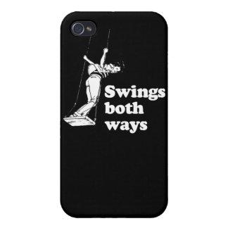 Balancea ambas maneras iPhone 4 carcasas