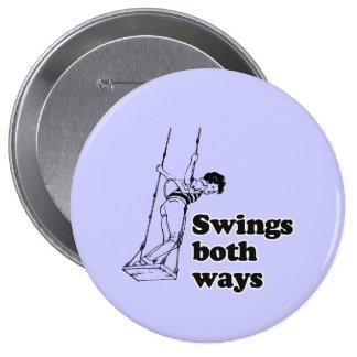 Balancea ambas maneras pin redondo 10 cm