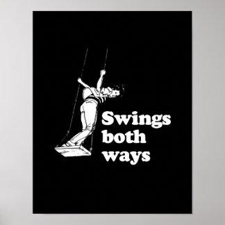 Balancea ambas maneras póster
