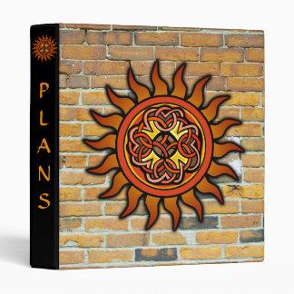 Balanced Celtic Sun and Brick Binder