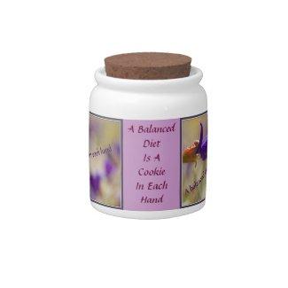 Balanced Diet Candy Jar candyjar
