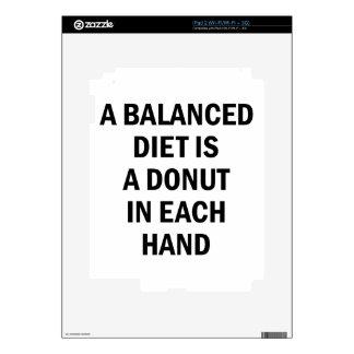 Balanced Diet iPad 2 Skin