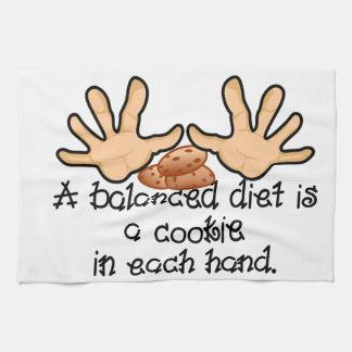 Balanced Diet Towel