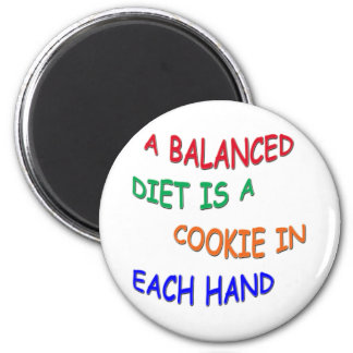 Balanced Diet Magnet
