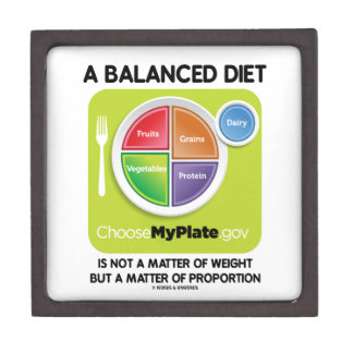 Balanced Diet Not A Matter Weight But Proportion Gift Box