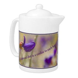 Balanced Diet Teapot teapot