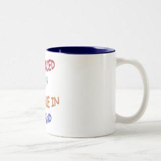 BALANCED DIET Two-Tone COFFEE MUG