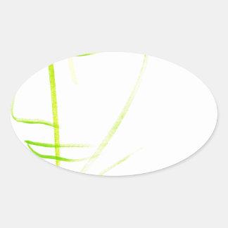 Balanced Equation Oval Sticker