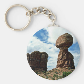 Balanced Rock - Arches National Park Key Chains
