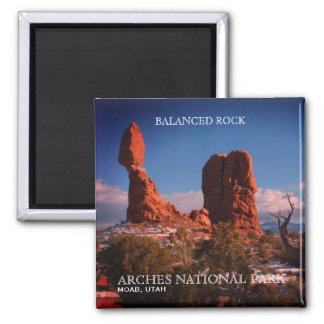 Balanced Rock, Arches National Park, Moab, Utah Magnet