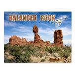 Balanced Rock, Arches National Park, Utah Post Cards