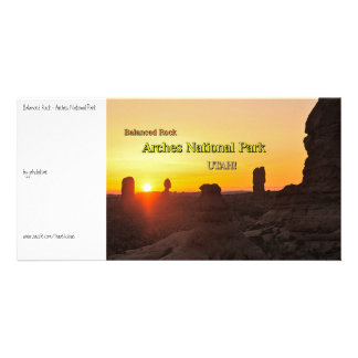 Balanced Rock - Arches Photo Card