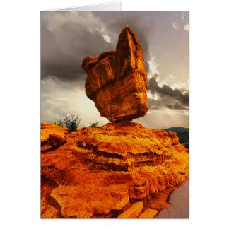 Balanced Rock, Colorado, Southwest, Blank Inside Card