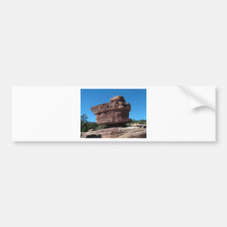 Balanced Rock, Garden of the Gods Bumper Sticker