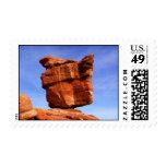 Balanced Rock, Garden of the Gods Postage Stamp