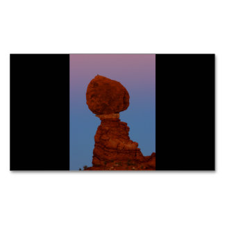 Balanced Rock Magnetic Business Card
