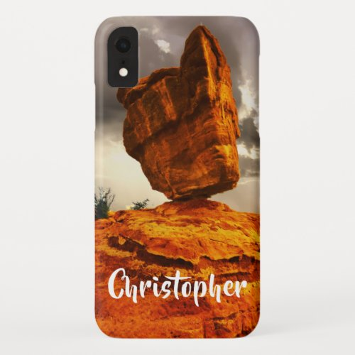 Balanced Rock Personalized iPhone XR, XS, XS Max iPhone XR Case
