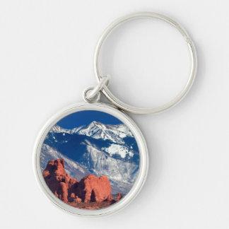 Balanced Rock Trail Keychain