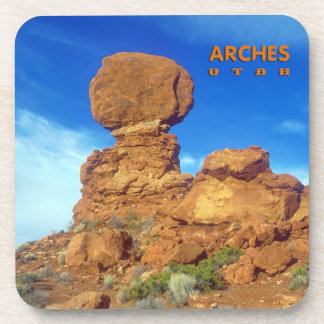 Balanced Rock Utah Drink Coaster