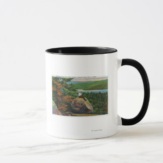 Balanced Rock View of Fulton Chain of Lakes Mug