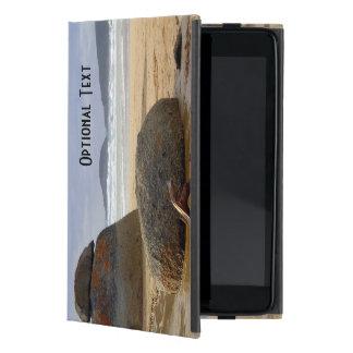 Balanced Rocks and Driftwood on Australian Beach iPad Mini Case