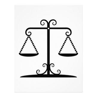 "balanced scales 8.5"" x 11"" flyer"