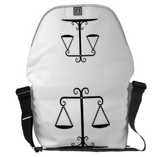 balanced scales courier bags