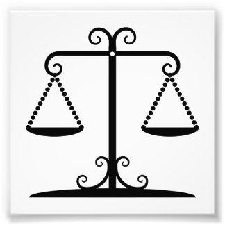 balanced scales art photo