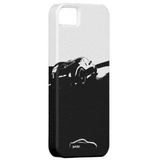 balanceo 350Z tirado con el logotipo blanco de la iPhone 5 Case-Mate Protectores