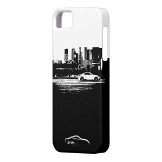 balanceo 350Z tirado con el logotipo blanco de la iPhone 5 Case-Mate Cárcasas