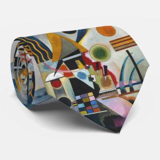 Balanceo abstracto de la pintura de Kandinsky Corbatas Personalizadas